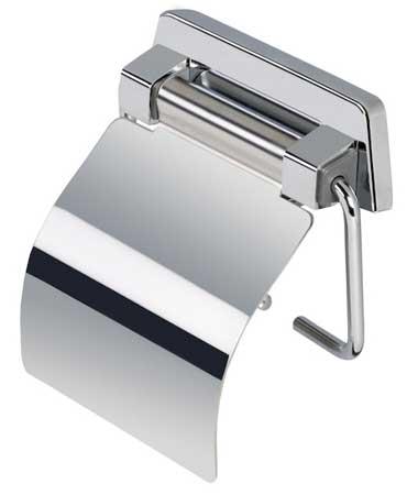 Держатель туалетной бумаги с крышкой пружиной Geesa SHC 5144