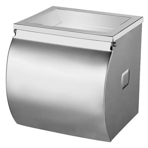 Держатель туалетной бумаги Ksitex TH-355A с емкостью для мусора