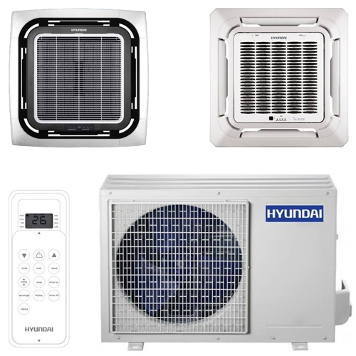Кассетная сплит-система Hyundai H-ALT1-24H-UI031