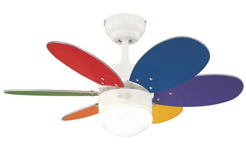 Потолочный вентилятор WESTINGHOUSE Turbo 2 Multicolor 78673MWES