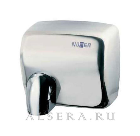 Сушилка для рук Nofer Сyclon из нерж. стали глянец